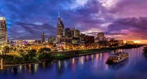 Nashville-Skyline Lizenzfreies Stockbild