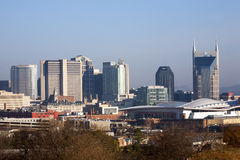 The Nashville skyline Royalty Free Stock Photo