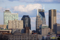 The Nashville skyline Stock Image
