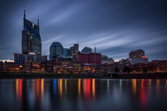 Nashville, skyline, dusk Stock Images