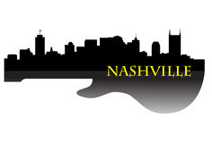 Nashville skyline G Royalty Free Stock Images