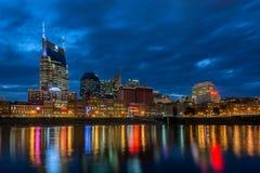 Nashville, skyline, twilight stock photography