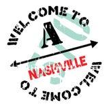 Nashville-Stempelgummischmutz Lizenzfreies Stockfoto