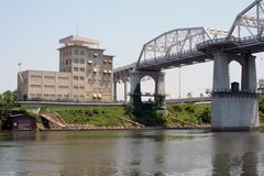 Nashville storica Fotografia Stock
