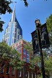 Nashville AT&T byggnad Fotografering för Bildbyråer
