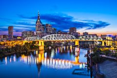 Nashville Tennessee Stockbild