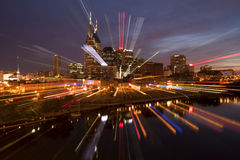 Nashville Tennessee (abstract) Royalty Free Stock Photo
