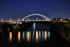 Nashville, Tennessee Bridge Royalty Free Stock Image
