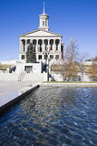 Nashville, Tennessee - Capitólio do estado fotos de stock