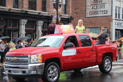 Nashville, Tennessee CMA Fest - Opening parade Royalty Free Stock Photo