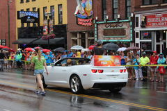 Nashville, Tennessee CMA Fest - Opening parade with Danielle Peck Royalty Free Stock Photo