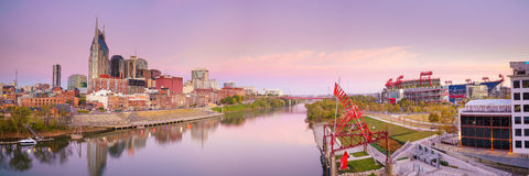 Nashville, Tennessee downtown skyline Royalty Free Stock Photos