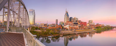 Nashville, Tennessee downtown skyline Stock Photos