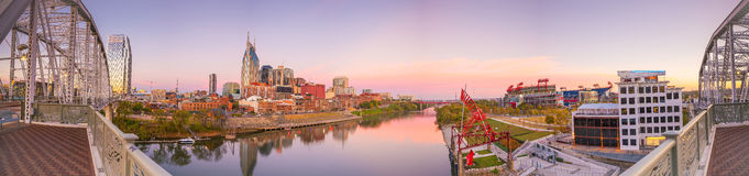 Nashville, Tennessee downtown skyline Royalty Free Stock Photography