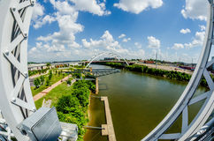Nashville, Tennessee downtown skyline and  streets Royalty Free Stock Photos