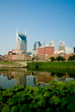 Nashville, Tennessee skyline reflection Royalty Free Stock Image