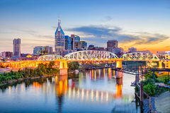 Nashville, Tennessee, U.S.A. Fotografia Stock Libera da Diritti