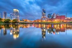 Nashville, Tennessee, usa śródmieścia pejzaż miejski zdjęcie stock