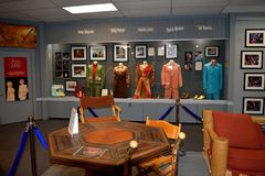 Willie Nelsons and Friends Museum. NASHVILLE, TENNESSEE, USA - MARCH 20, 2018: Country music entertainers artifacts displayed at Willies Nelson and Friends Royalty Free Stock Photography