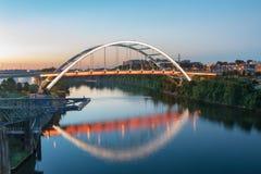 Nashville TN Gateway Boulevard Bridge royalty free stock images