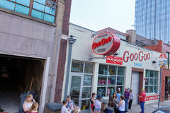 NASHVILLE, TN, USA - APRIL 14, 2017: Goo-Goo shop and factory. A royalty free stock photo