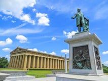 Nashville, TN USA - Centennial Park The Parthenon Replica. Nashville, TN USA - 06/17/2014 - Centennial Park The Parthenon Replica Stock Image