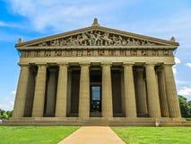 Nashville, TN USA - Centennial Park The Parthenon Replica. Nashville, TN USA - 06/17/2014 - Centennial Park The Parthenon Replica Stock Photo