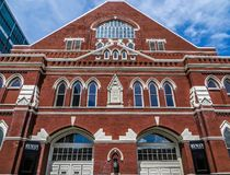 Nashville, TN usa - Ryman audytorium zdjęcie stock