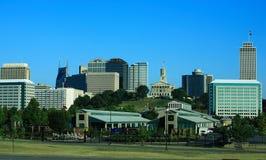 Nashville van de binnenstad stock afbeeldingen