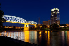 Nashville van de binnenstad Stock Foto