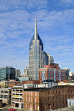 nashville w centrum linia horyzontu Tennessee fotografia stock