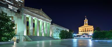 Nashville War Memorial Auditorium Stock Photography