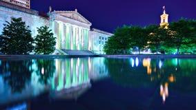 Nashville Wojennego pomnika audytorium zdjęcia royalty free