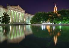 Nashville Wojennego pomnika audytorium zdjęcia stock