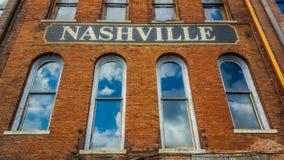 Nashville-Zeichen Stockbilder