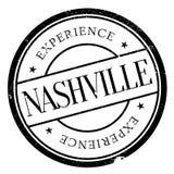 Nashville znaczka gumy grunge Zdjęcie Stock