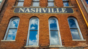 Nashville znak obrazy stock