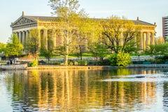 Nashvilles Parthenon i vår Fotografering för Bildbyråer