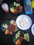 nasi τροφίμων lelapan Στοκ Εικόνα