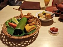 Nasi Bakar Photographie stock