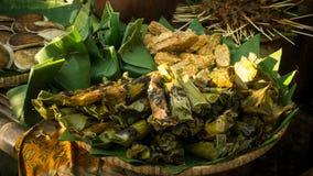 Nasi bakar tradycyjny jedzenie od Indonesia Zdjęcie Royalty Free