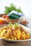 Nasi Briyani Foto de Stock
