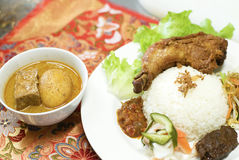 Nasi Campur Stock Photos