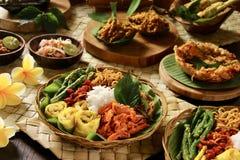 Nasi Campur Bali Royalty-vrije Stock Afbeelding