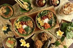 Nasi Campur Bali Royalty-vrije Stock Foto