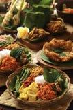 Nasi Campur Bali Stock Foto's