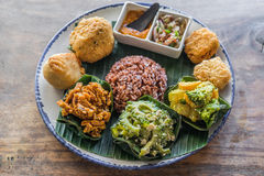 Nasi campur Stock Photography