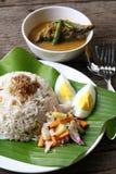 Nasi Dagang - Series 10 Royalty Free Stock Image