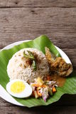 Nasi Dagang - Series 7 Royalty Free Stock Photography