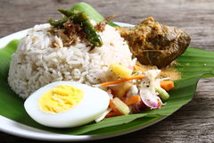 Nasi Dagang - Series 5 Royalty Free Stock Photo